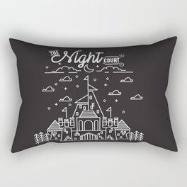 The Night Court Rectangular Pillow
