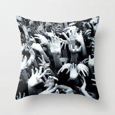 Help Hell Throw Pillow