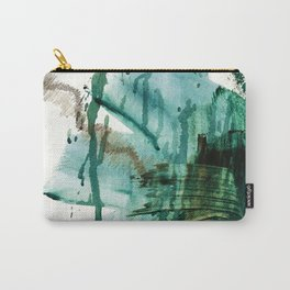 """Making Marks"". Phthalo Green Series, No 2. Carry-All Pouch"