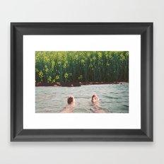 Lander Framed Art Print