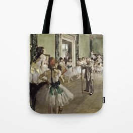 Edgar Degas - The Ballet Class Tote Bag