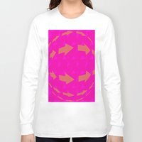 arrows Long Sleeve T-shirts featuring ARROWS by Latidra Washington