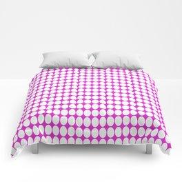vanille pink ish Comforters