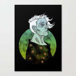 Settel between Canvas Print