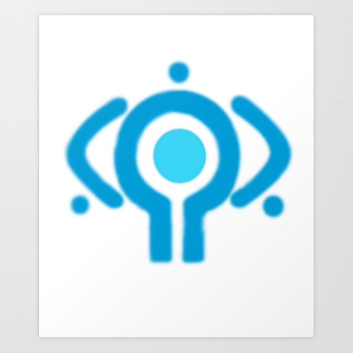 serial experiment lain copland OS enterprise logo Art Print by ...