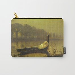 John Atkinson Grimshaw - The Lady Of Shalott Carry-All Pouch