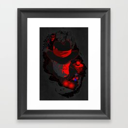Three After Midnight Framed Art Print
