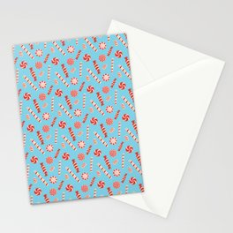 Seasonal Sweets Blue Stationery Cards