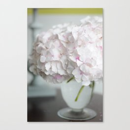 Pink, Grey and Lime Canvas Print
