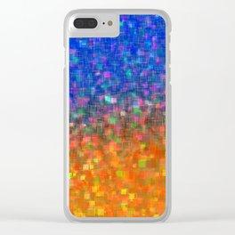 Galactic Horizon Clear iPhone Case