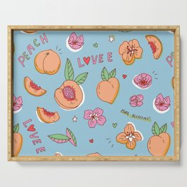 Just Peachy! Serving Tray