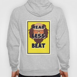 Read Less Beat - Allen Ginsberg Hoody