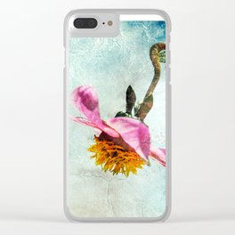 Be The Poet Clear iPhone Case