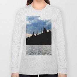 Sultanahmet Camii Skyline Istanbul Turkey Long Sleeve T-shirt