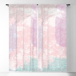 Pastel fantasy Blackout Curtain