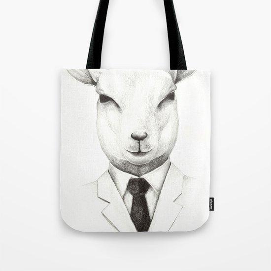 Lamb Tote Bag