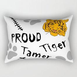 Proud Tiger Tamer Rectangular Pillow