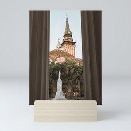 Town house in Subotica, Serbia / Fall / Autumn Mini Art Print