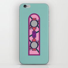 Hoverboard - Back to the future series iPhone & iPod Skin