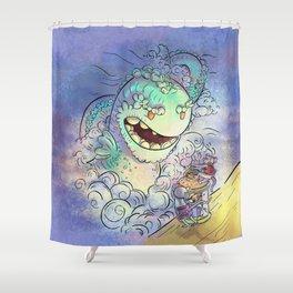Sea Serpent Shower Curtain