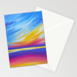 silence on the sound Stationery Cards