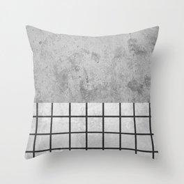 Concrete Design Throw Pillow