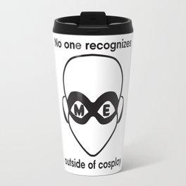 Recognize HERO-Black Print Travel Mug