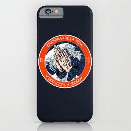 Como una ola iPhone Case