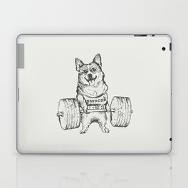 Corgi Lift Laptop & iPad Skin
