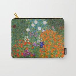 Flower Garden Bauerngarten Klimt Garden Floral Oil Painting Carry-All Pouch