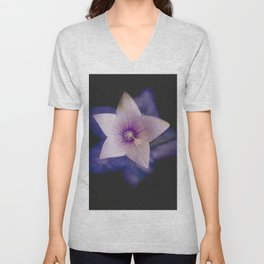 Two flowers in one Unisex V-Neck