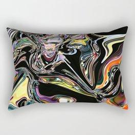 neural abstraction #1 Rectangular Pillow