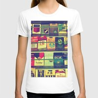 cigarette T-shirts featuring cigarette collection by gzm_guvenc