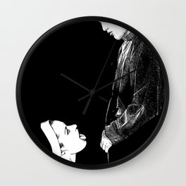 asc 274 - La possession de Marie Magdala (The possession of Mary Magdalene) Wall Clock