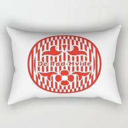 Denmark De Rød-Hvide (The Red-White) ~Group C~ Rectangular Pillow