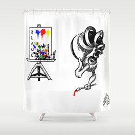Blanking... Shower Curtain
