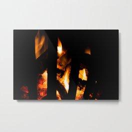 Conflagrant Metal Print