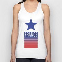 france Tank Tops featuring FRANCE by Andrew O'Rourke