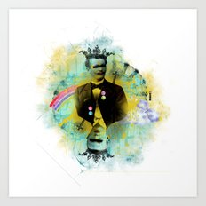 Kings of hearts Art Print