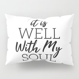 Fear Is A LIAR Inspirational Christian quote Pillow Sham