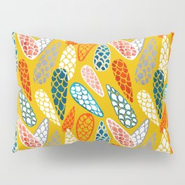 Colored Cone pattern Pillow Sham