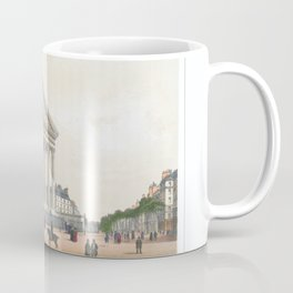 Paris Decor office decoration vintage decor LA MADELEINE of Paris Coffee Mug