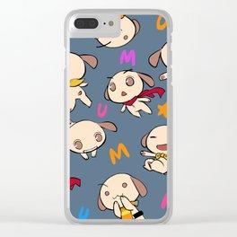 nemu*nemu Clear iPhone Case