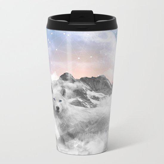 The Soul That Sees Beauty Metal Travel Mug