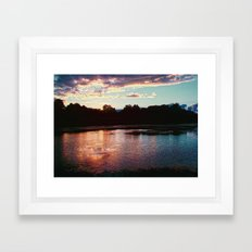 Summer's Farewell [cropped] Framed Art Print