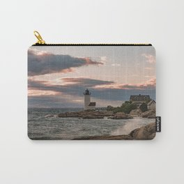 Annisquam Lighthouse sunset Carry-All Pouch