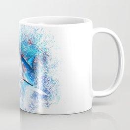 Mako Shark Breaching Coffee Mug