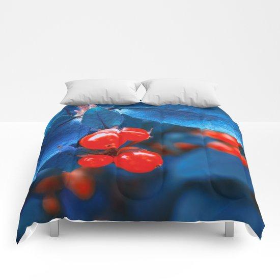 Garden Red Lamps  Comforters