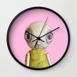 Sheldon The Turtle - Pink Wall Clock