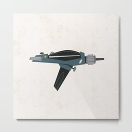 Star Trek Phaser Metal Print